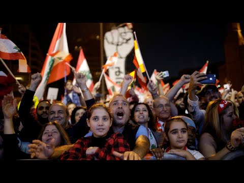 Lebanon's Peaceful Protesters have One Demand: The Whole Rotten Elite Must Go