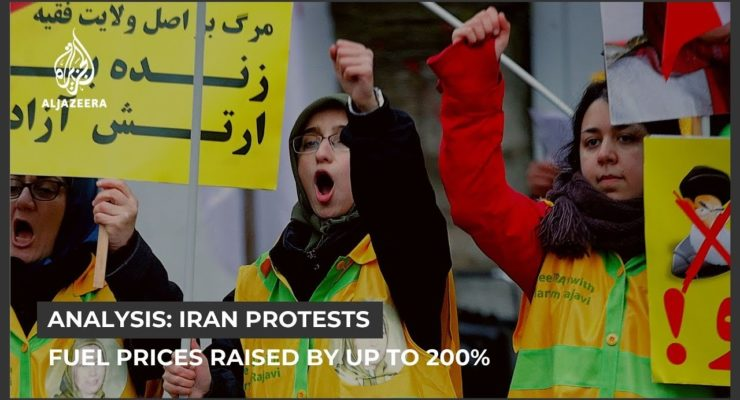 Outrage In Iran Over Hike In Gas Prices As Economic Woes Worsen