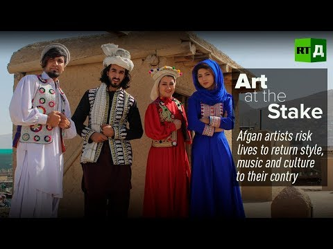 "'Art-ivist' Omaid Sharifi: ""There is so much more the world should know about Afghanistan"""