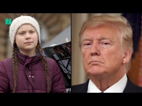 """Top 5 Differences between Chill Trump and """"Angry"""" Greta Thunberg"""