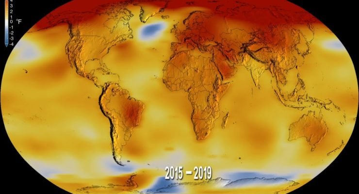 Earth's Hottest Decade on Record:  Scientists Underestimated CO2 Heating Juggernaut