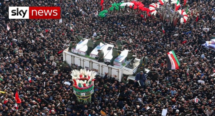 Millions Come into Streets for Slain Gen. Soleimani in Biggest Rallies in Iran's History (And no, They weren't Coerced)