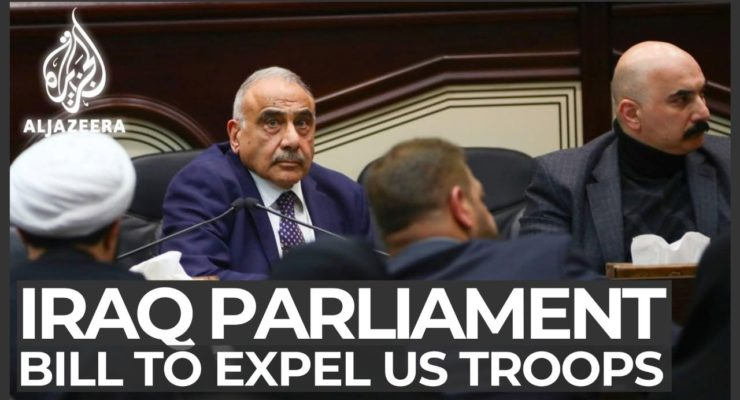 Iraqi Parliament Resolves to Kick Out US Troops, and Trump Threatens Mother of All Sanctions
