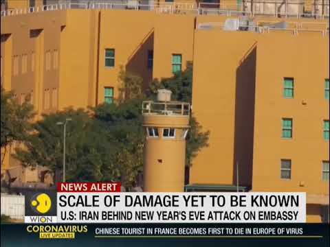 Rockets slam into US Embassy Compound in Iraq, as Base with US Troops also Comes under Fire