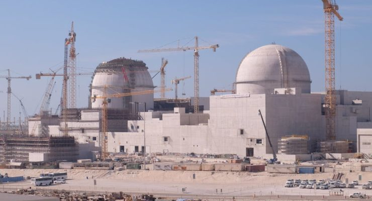 Why is it only Suspicious when Iran Does it?  Energy-Rich United Arab Emirates is about to open 4 Nuclear Reactors
