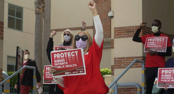 Unprotected Nurses of the World, Unite; You have nothing to Lose but your Corporate Chains