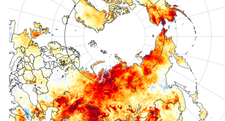 100 degrees in Siberia? Top 5 ways burning Coal, Gasoline is causing Astonishing Transformation of Arctic