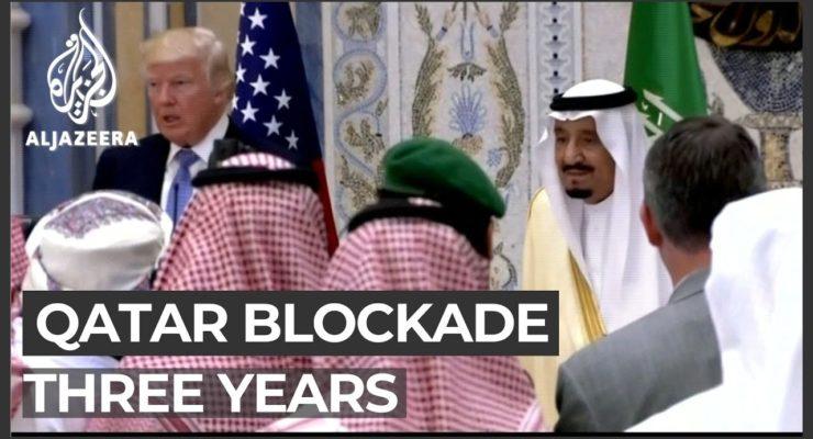 Chump: Before Trump fell for Antifa Conspiracy Theory, He Fell for Saudi Blockade of US Ally Qatar