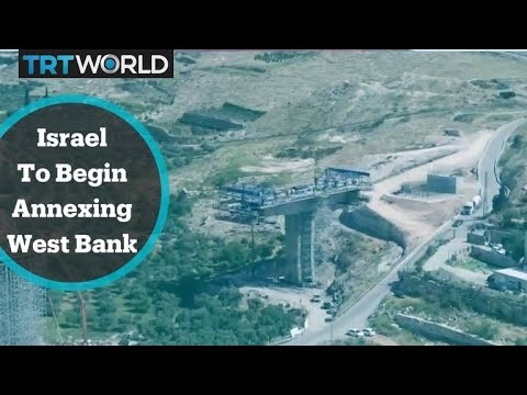 Israel: Is Netanyahu Poised to Annex 1/3 of Palestinian W. Bank by Fiat,  w/out Trump, Parliament?