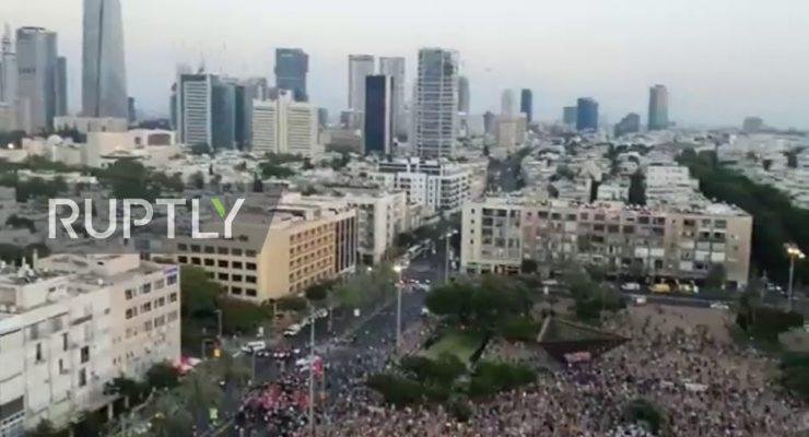 Palestinian Lives Matter: Huge Jewish-Arab Rally in Tel Aviv Decries Netanyahu's plan to Annex 1/3 of West Bank
