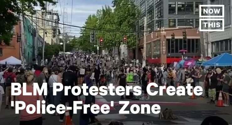Seattle's BLM Autonomous Protest Zone and the Paris Commune of 1871: Anti-Capitalist Spirit still Lives
