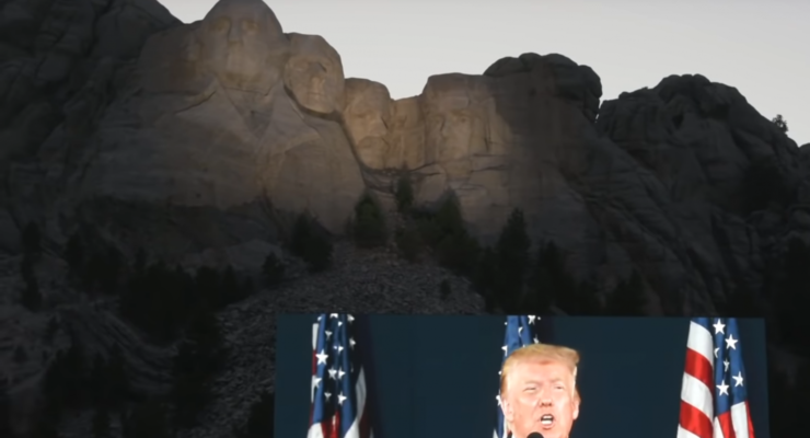 Trump wants to be on a New Mt. Rushmore– with Dictators Putin and Xi