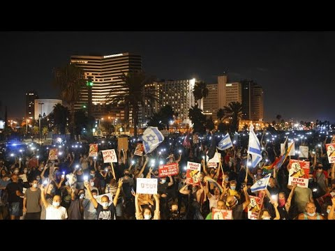 "Coronavirus Protests against ""Corrupt"" Netanyahu Rock Israel, as cases per capita outstrip Brazil"