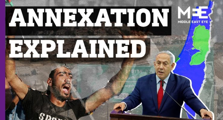 Netanyahu's proposed annexation of the Palestinian West Bank could Provoke a 'diplomatic tsunami' against Israel