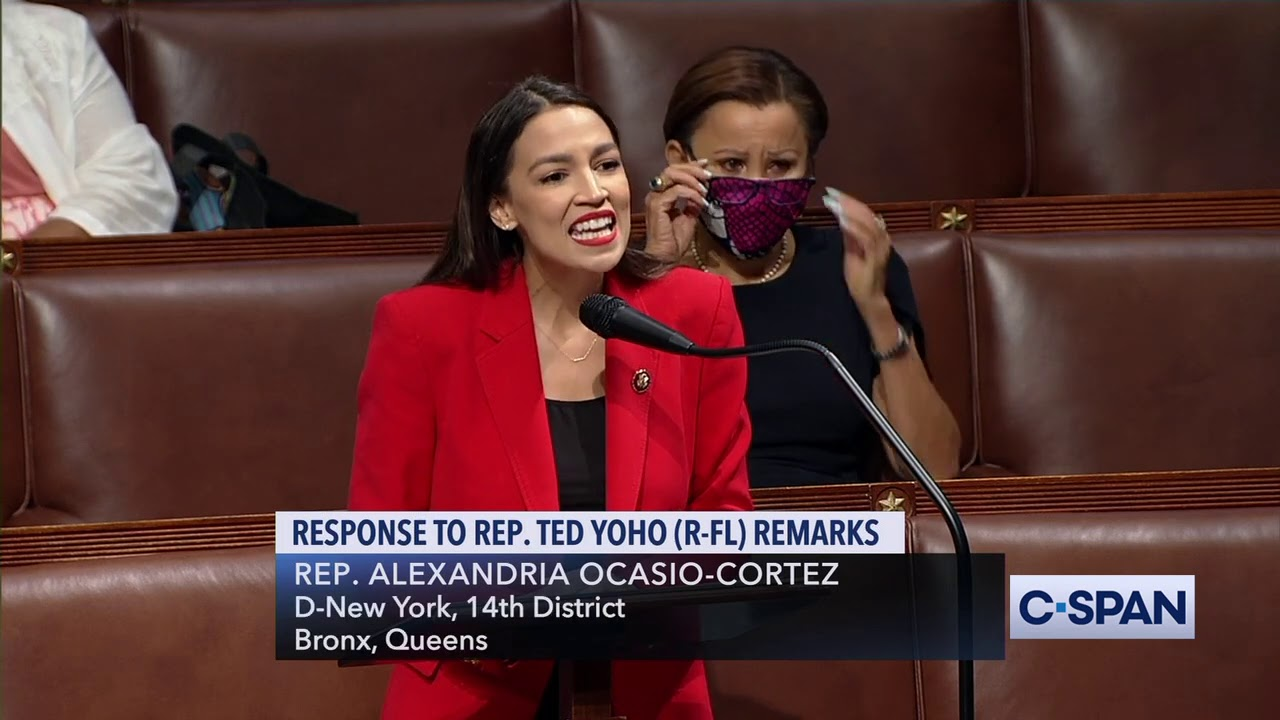 Alexandria Ocasio-Cortez D-NY: Republican Ted Yoho authorized all Men to...